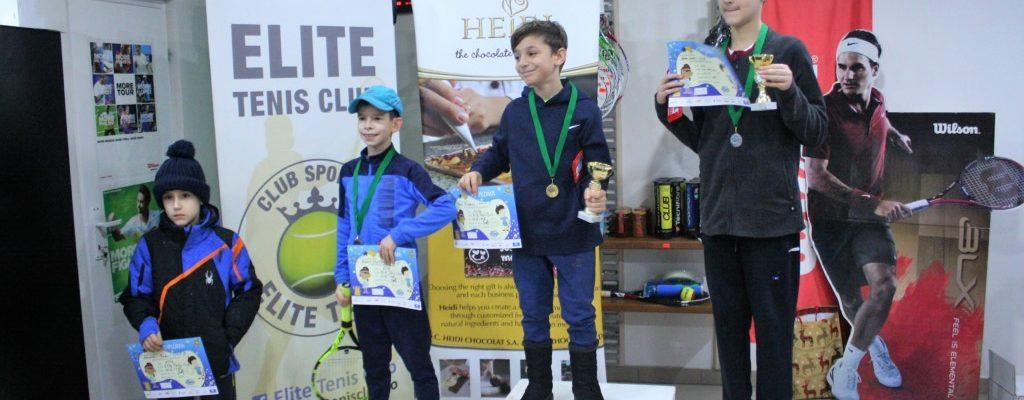Cupa Elite 16 decembrie 2018 – Tenis 10 baieti verde